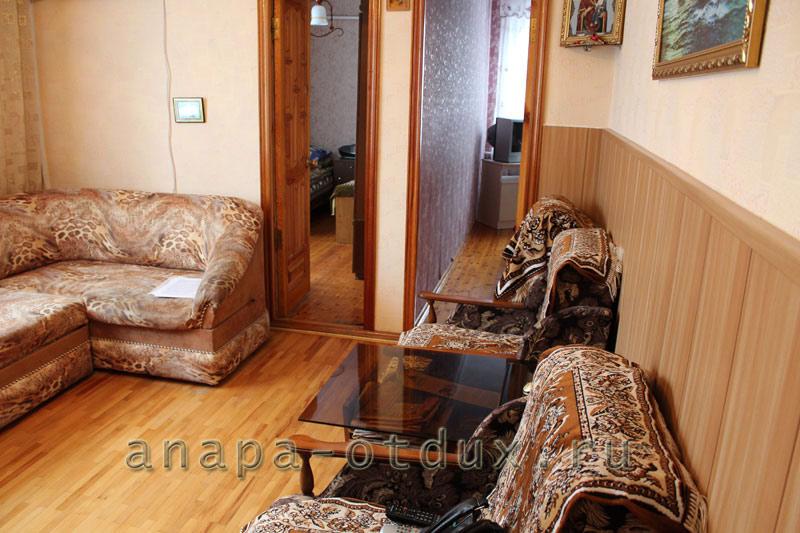 Расположение. 3-х комнатный дом под ключ в Анапе находится на ул