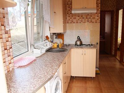 Номер с кухней и балконом в Анапе