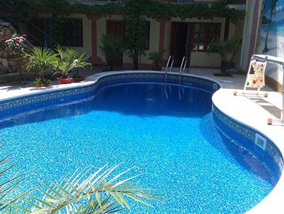Джемете частный дом с бассейном