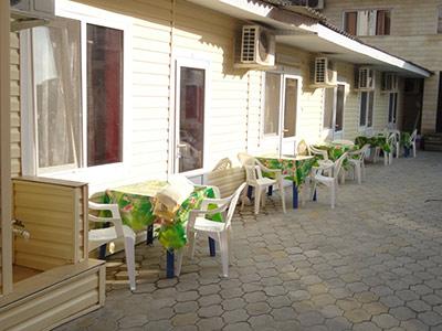 Дом отдыха «На Песчаной» в Джемете