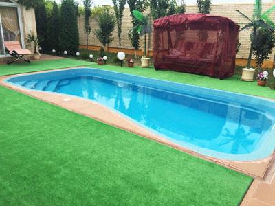 Апартаменты на троих с личным бассейном