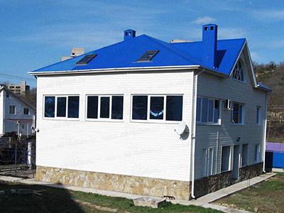 Частный дом в Сукко на Солнечной