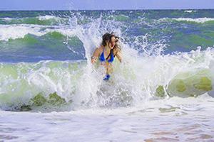 какие можно сделать фото на море