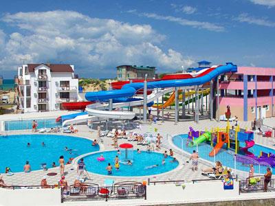 Джемете гостиничный комплекс на берегу моря